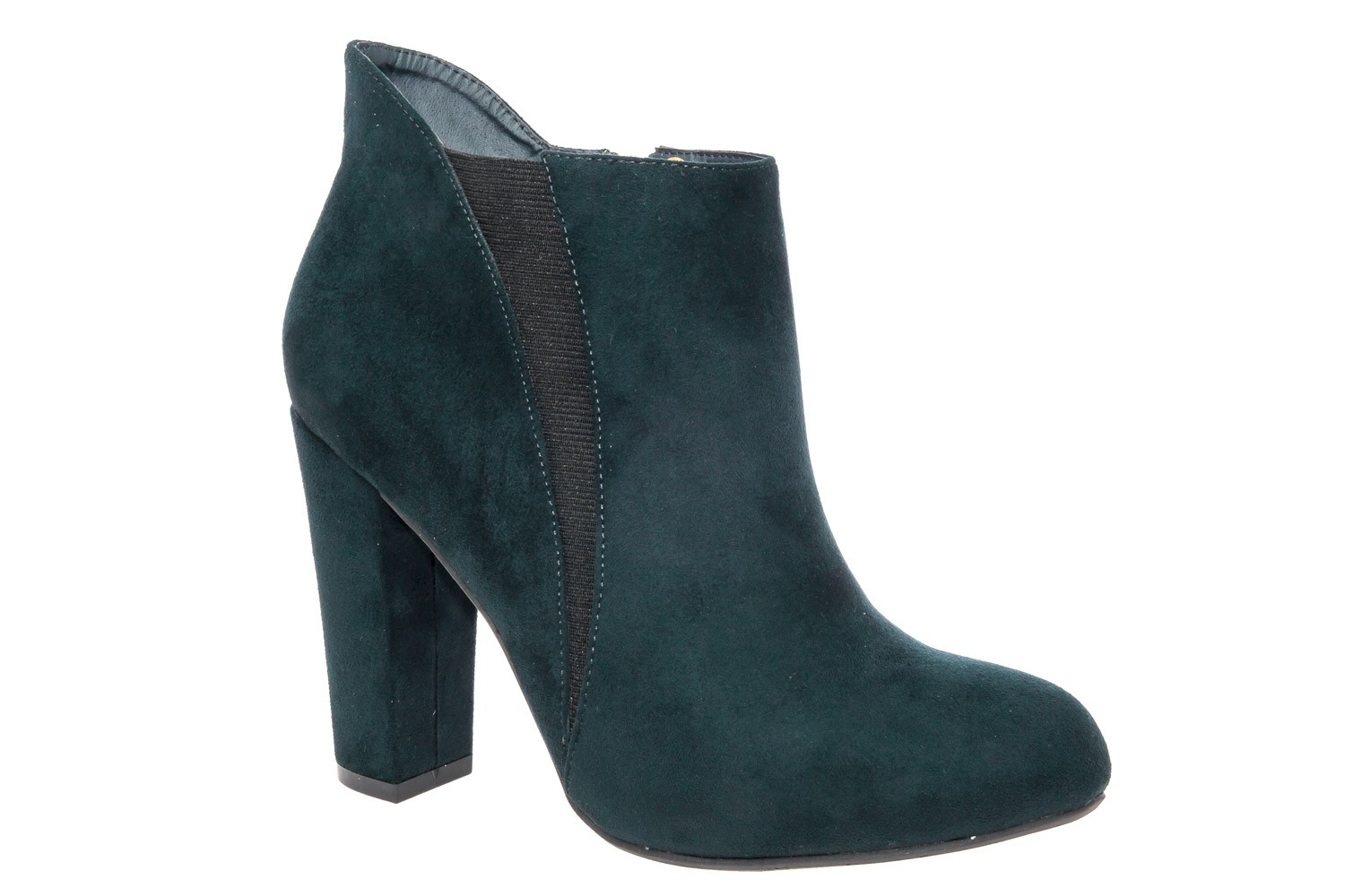 Navy ankle boots by shoetastic
