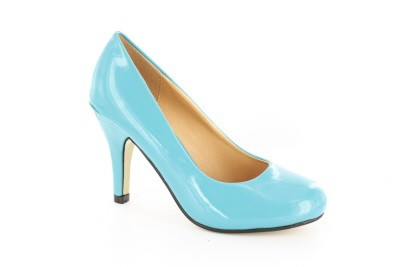 Judy Turquoise Patent