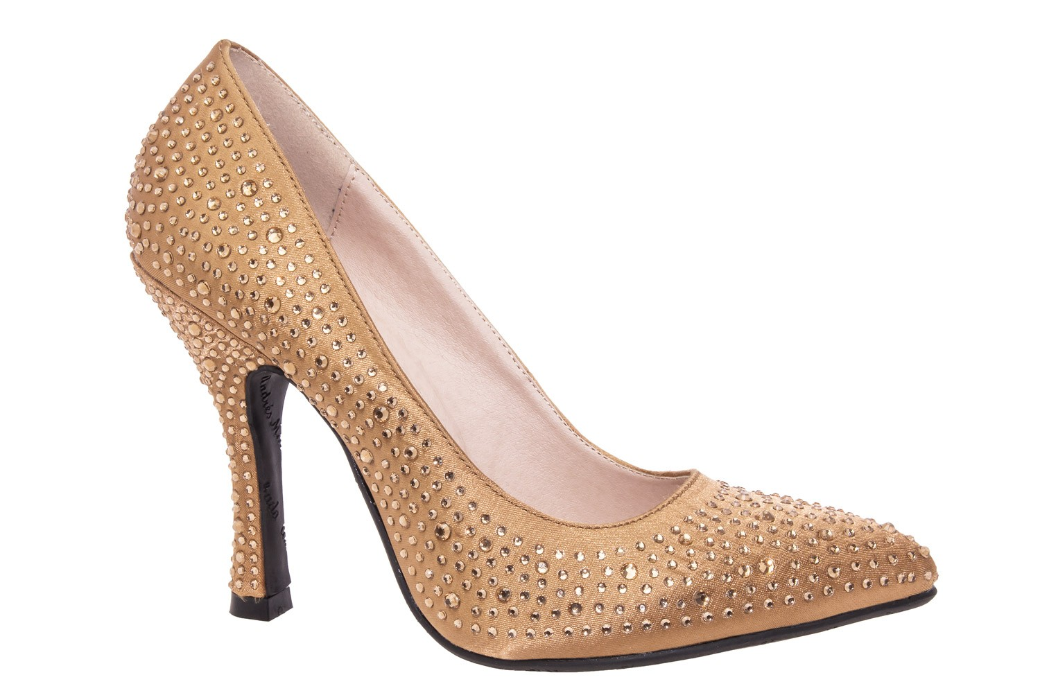 Gold Bridal shoes by shoetastic