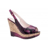 Platform wedges in small sizes by Shoetastic