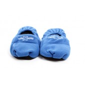 Blue Microwave Slippers by Shoetastic